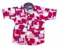 All Over Print Comfortable summer Shirt for Boys' Lenin