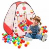 Hellow kitty tent play house & 50 balls