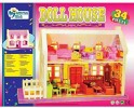 """""""Kids My Deluxe Doll House 34 Piece Play Set """""""