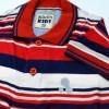 Red Stripe Slim Fit Boys Polo T Shirt Short Sleeve